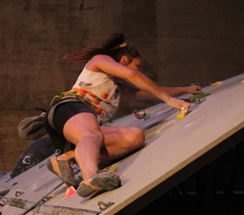 Known finalist of the EUSA Sport Climbing